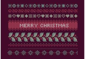 Cross Stitch Christmas Set