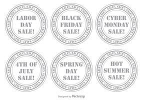 Sale Stamp Set