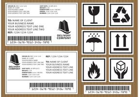 Package Vector Labels