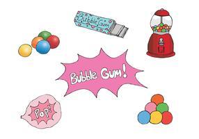 Free Bubblegum Vector Series