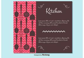 Free Vector Cutlery Style Background