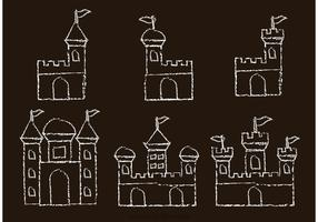 Chalk Drawn Fort Vectors