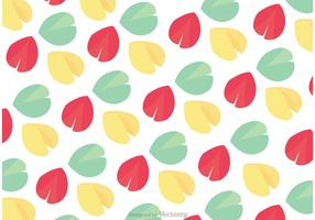 Fortune Cookie Pattern Vector