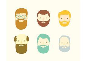 Beardy portraits