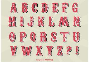 Vintage Alphabet Set