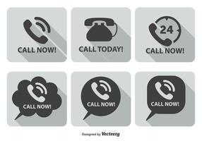 Call Now Icon Set