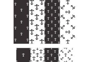 Free Fleur De Lis Vector Seamless Patterns