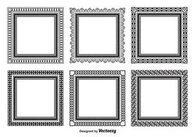 Decorative Square Frame Set