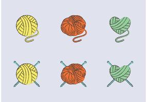Free Ball of Yarn Vector