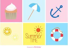 Summer Beach Doodles