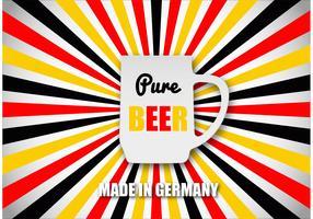 Free Beer Concept Vector