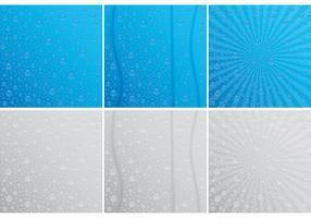 Droplets On Window Vectors