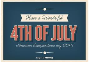 Independence Day Typographic Poster