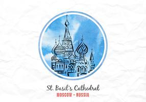 Free Vector Famous Landmark Of Russia