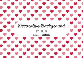 Cute Heart Background Pattern