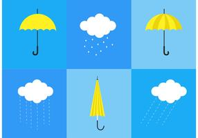 Spring Showers Vectors