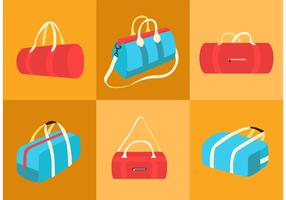 Duffle Bag Vectors