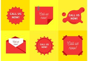 Call Us Now Vectors