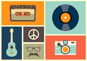 Vintage Vector Icons