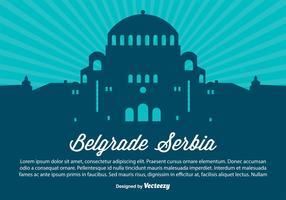 Belgarde Serbia Silhouette Illustration