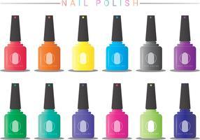 Nail Polish Vectors
