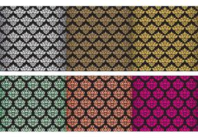 Classic Damask Tapestry Vectors