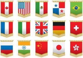 Wall Tapestry Flag Vectors