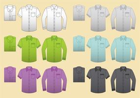 Vector Blank Shirts