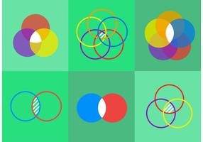 Venn Diagram Vector Icons