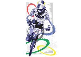 Vector BMX Olympian Mike Day