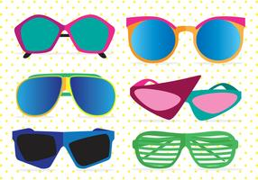80's Sunglasses Vectors