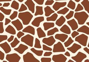 Free Giraffe Print Vector