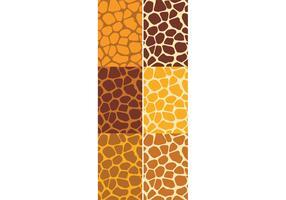 Giraffenmuster Set