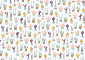 Plants Pattern Background
