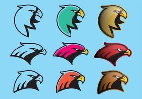 Colorido Hawk Logo Vector