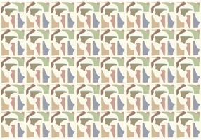 Shoes Pattern Background Vector