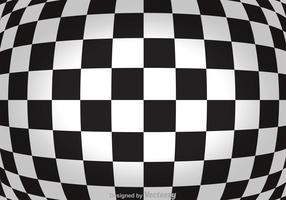 Abstract Checker Board Background