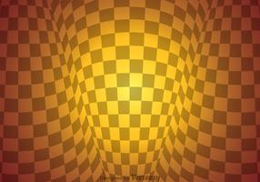 Checker Board Warp Abstract Background
