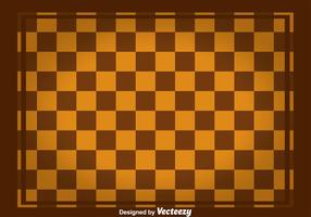 Brown Square Checker Board Vector