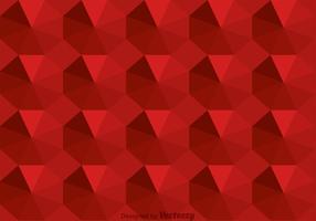 Maroon Octagon Background Vector