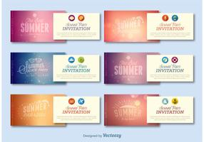 Summer Party Invitations