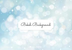 Beautiful Blue Bokeh Style Background