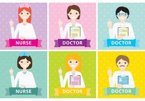 Medical Staff Vectors
