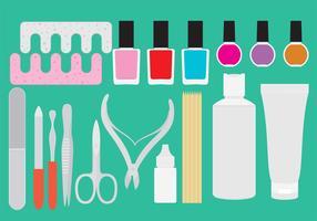Manicure Pedicure Tool Vectors