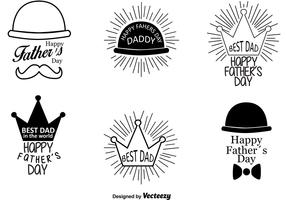 Happy Father's Day Retro Signs