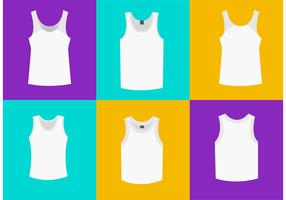 Tank Top Template Vectors