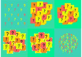 Question Mark Background Vectors