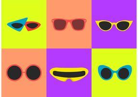 80's Sunglasses Vectors