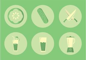 Kitchen Things Vector Icons