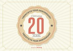 Twentieth Year Anniversary Illustration